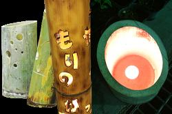 竹灯篭ワークショップ