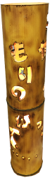 竹灯篭の例
