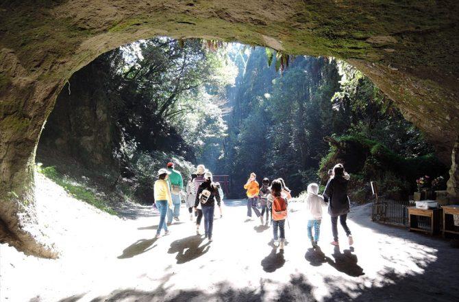 神秘的な溝ノ口洞穴