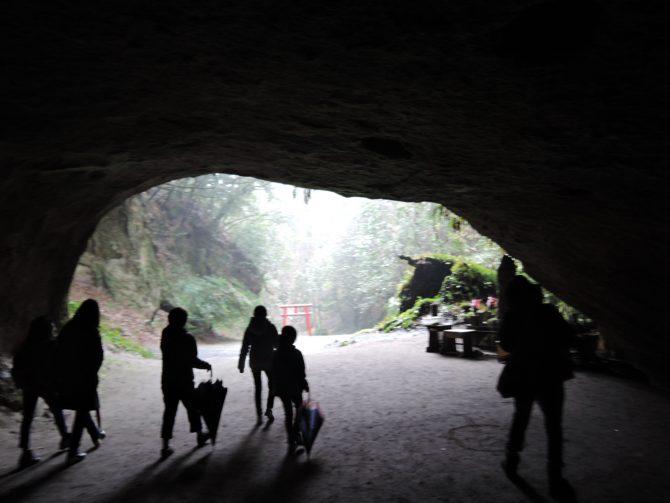 溝ノ口洞穴の幻想的な景色