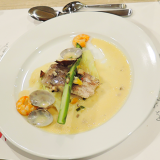 学校に泊まろう&テーブルマナー付きフランス料理