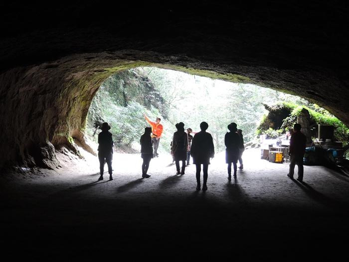 溝の口洞穴