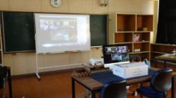 たからべ森の学校2階パソコン室